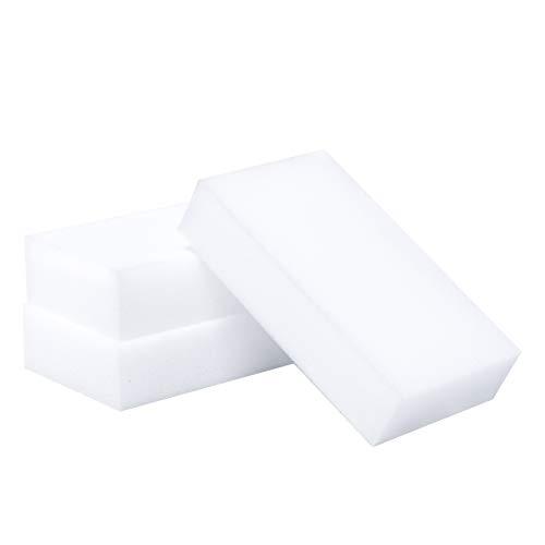 LTWHOME Magique Nettoyant Gomme Eponge Mélamine Mousse de Haute Qualité 90 X 50X 15mm (Paquet de 50)