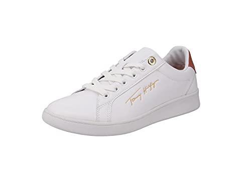 Tommy Hilfiger FW0FW05911 - Zapatillas deportivas para mujer, color Blanco, talla 38 EU