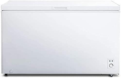 CHiQ congélateur FCF400D, 400litres, blanche, faible consommation, 40db, 12 ans de garantie sur le compresseur