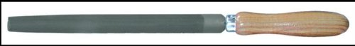 Outifrance - Lime demi-ronde, manche bois, 150 mm, Bâtarde Outifrance