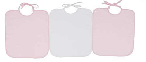 Ti TIN - Conjunto de 3 Sin Plástico Baberos