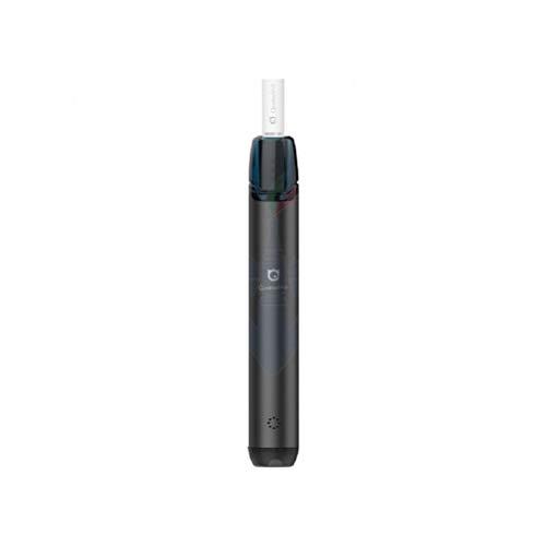Quawins - VStick PRO Sigaretta elettronica Pod Mod in alluminio con batteria 400 mAh, resistenza in cotone da 1,4 Ohm, capacità pod 2 ml (Nero)