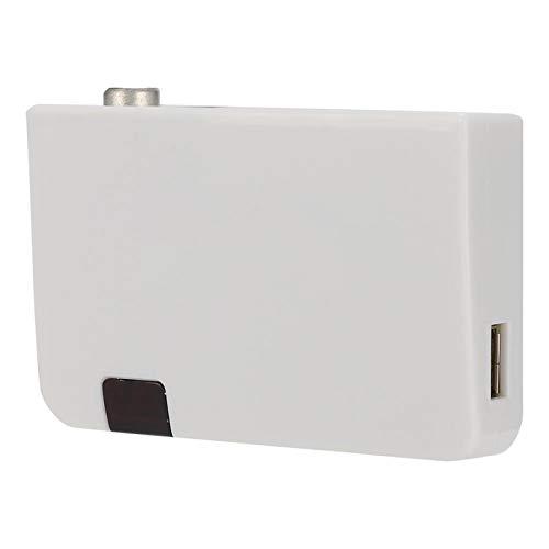 Socobeta Adaptador de Audio y Video HDMI Convertidor de HDMI a TV Transmisor HDMI a RF TV Convertidor HDMI con Control Remoto para proyector HDTV(Enchufe de la UE)