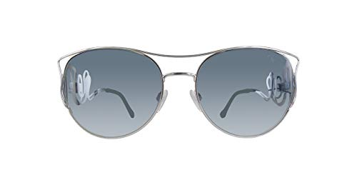 Roberto Cavalli Rc1026-18X-Silber Gafas de sol, Plateado (Silver), 61.0 para Mujer