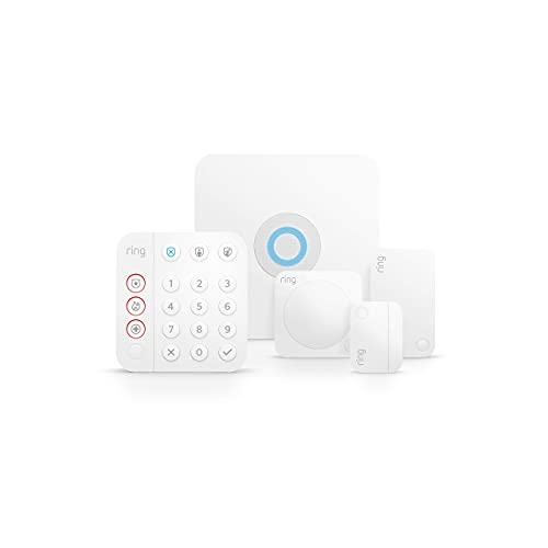 Ring Alarm 5-piece kit (2nd Gen) – home security system with optional 24/7 professional monitoring...