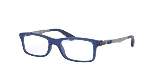 Ray-Ban JUNIOR 0RY1588 Monturas de gafas, Matte Blue, 45 Unisex