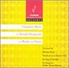 Draganski: Chamber Music for Winds and Piano: Trio from Rio; Klezmer Music; Variations on a Bosnian Kolo; Turnings of the Ayre; Six Songs on Mother Goose Rhymes (2002-11-26)