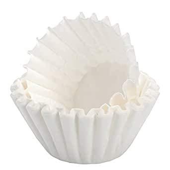 Lot de 700 petits filtres à café blancs 80/200 pour machines K avec broyeur comme les beem etc.