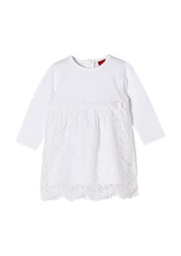 s.Oliver Junior Baby-Mädchen 405.10.102.20.200.2062592 Kleid für besondere Anlässe, White, 62