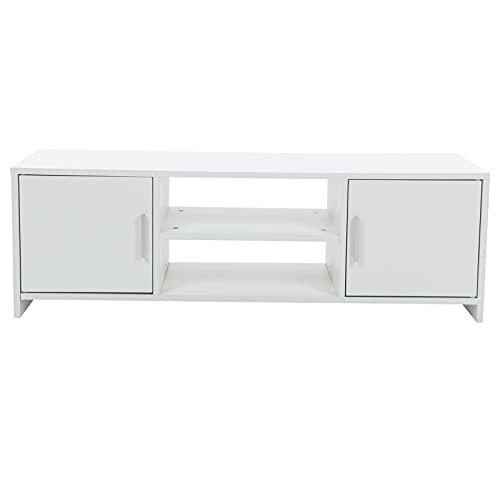 Mueble De TV Moderno con Particiones Mueble De Almacenamiento De Soporte De TV con Consola De TV De Partición para La Decoración De La Sala De Estar