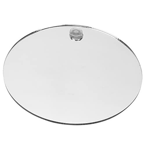 SALALIS Espejo de Ducha, fácil de Instalar y Desmontar Espejo de Afeitar sin Niebla Diseño antivaho Material plástico baño