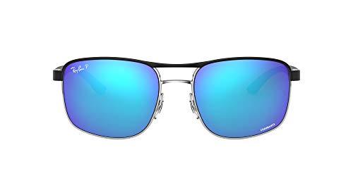 Ray-Ban RB3660CH-9091A1 Gafas de sol, Negro, 58 Unisex