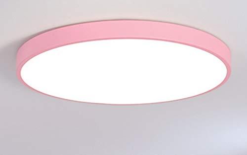 Ultradünne Moderne Runde LED Deckenleuchten-für Wohnzimmer Home Deckenleuchte Rosa