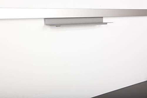 SO-TECH® Linero MosaiQ Tuchleiste unten Titan grau