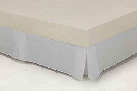 Cubre-canape Loneta con Fuelles Cama 150 cms Color Plata ...