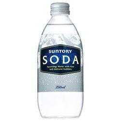 サントリー ソーダ350ml瓶×24本入×(2ケース)