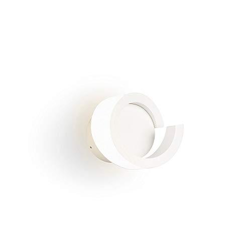 Aplique LED TSUNAMI redondo color blanco arena 12W - 3000K - 900 LMS