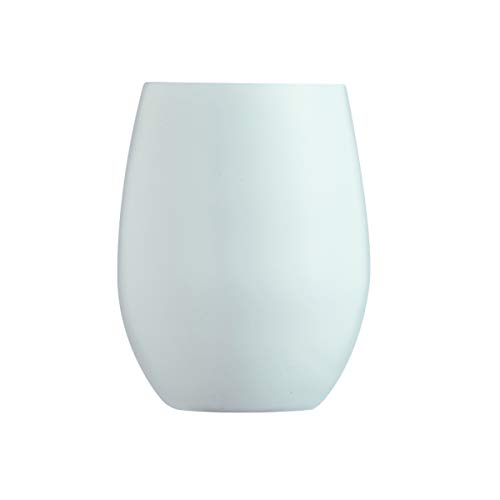 Visiodirect Lot de 24 gobelets Primary Coloris Blanc - 35 cl