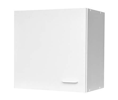 Nicht Zutreffend Küchenschrank Hängeschrank Oberschrank   Weiß   1 Tür