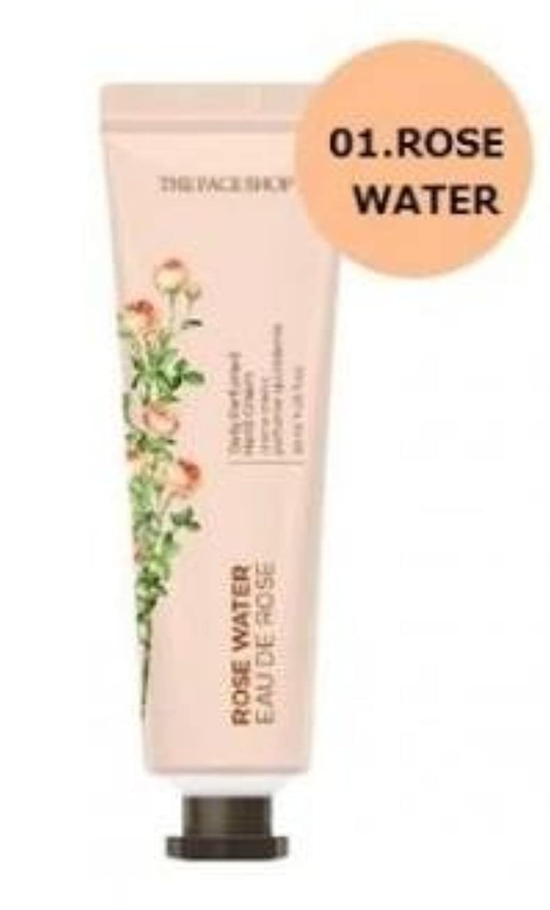 メイエラ押し下げる三番THE FACE SHOP Daily Perfume Hand Cream [01.Rose Water] ザフェイスショップ デイリーパフュームハンドクリーム [01.ローズウォーター] [new] [並行輸入品]
