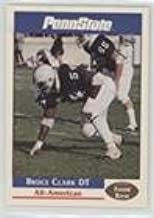 Bruce Clark (Football Card) 1992 Front Row Penn State Nittany Lions All-Americans - [Base] #8