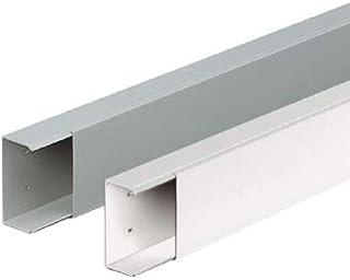 Longueur: 160cm Conduit de c/âbles semi-circulaire design pour c/âble aluminium en acier inoxydable finition bross/ée ALUNOVO