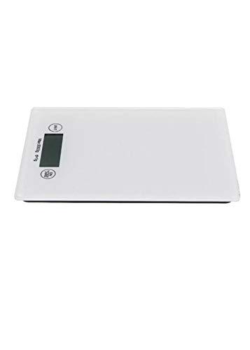 KUNSE elektronische weegschaal, digitaal, dieet, met evenwicht, gewicht max. 1 g/5 kg.