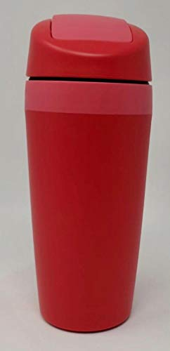 TW TUPPERWARE Kaffee to go and Kaffeebecher Thermobecher Coffee Cafe Valentin rot pink
