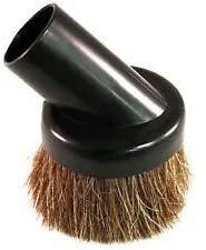 """VUXYMCY Brosse à poussière universelle en poils de cheval souple pour aspirateur Compatible avec toutes les marques de vide acceptant les fixations de diamètre intérieur de 1 1/4"""" telles que Hoover"""
