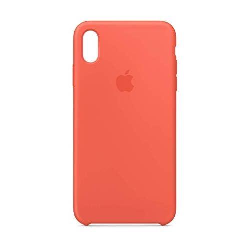 Apple Custodia in silicone (per iPhoneXSMax) - Mandarino