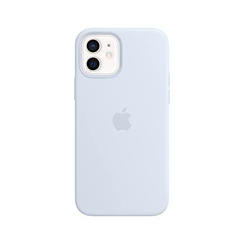Apple SilikonHülle mit MagSafe (für iPhone 12   12 Pro) - Wolkenblau
