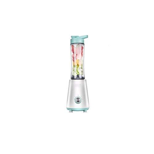 SXXYTCWL Máquinas de expresión, licuadora de un Solo Servidor con Botella de vacío, licuadora for el exprimidor portátil (Color: Verde) jianyou (Color : Green)