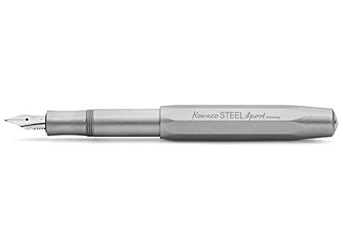 Kaweko Steel Sport Fountain Pen BB - Pluma estilográfica