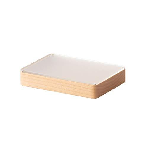 Preisvergleich Produktbild YC Schmuckschatulle kleine Reise aus Holz Holz Schmuckschatulle Partition Speicher for Ring-Ohrringe,  Halsketten-Armband (Color : Space Box)