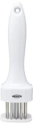 Batedor de Carne com Lâminas Descomplica, 18,8 x 5,1 x 5,1 cm, Aço Inox, Brinox