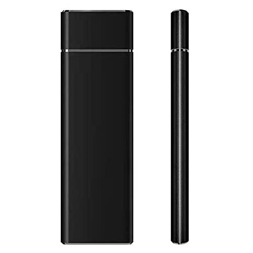 Disco duro móvil, USB3.1, unidad de estado sólido de aleación de aluminio a prueba de golpes SSD portátil,...