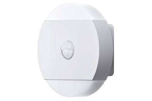 OSRAM Noxlite LED Wall runde Außenlampe mit Bewegungsmelder und Dämmerungssensor / Kühlkörper aus hochwertigem Aluminium / 2 x 6W, 6000K - kaltweiß, weiß