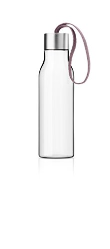 Eva Solo 503024Plastic Water Bottle with Carry Strap, 0.5l, Nordic Rose, 28x 10x 10cm