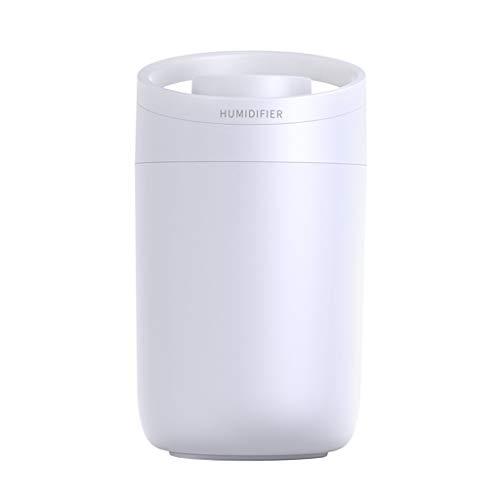 Fenteer Humidificador de Aire doméstico ultrasónico de Niebla fría difusor de Aroma Alimentado por USB 3L, fácil de Limpiar