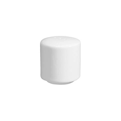 VEGA 10082988 Salzstreuer Base, 4.5 cm (H), weiß, 6 Stück