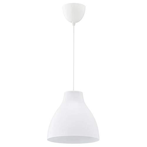 Ikea Melodi, lámpara de techo, blanco, 28 cm, ref 603.865.27 - 1 unidad