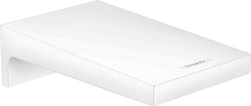 hansgrohe 32543700 Metropol - Grifo para bañera (acabado mate), color blanco