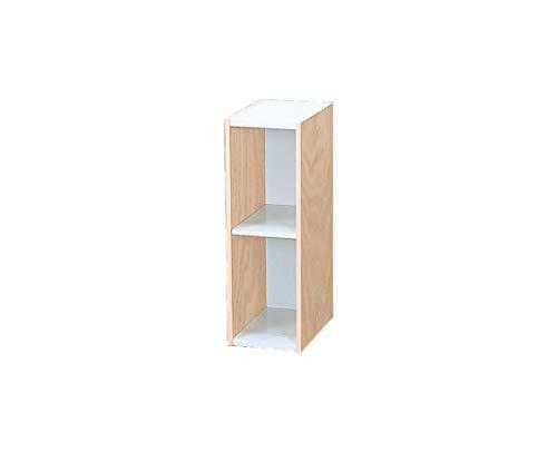 Marca Amazon - Movian Librería modular con 2 estantes en MDF, Beige, 20 x 29 x 60 cm