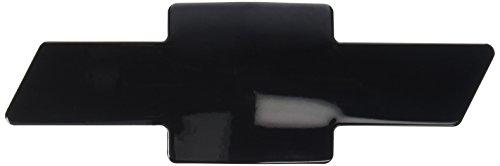 All Sales 96017K Black Powder Coated Bowtie Grille Emblem for Chevrolet Tahoe/Suburban