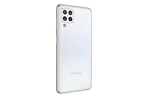 Samsung Galaxy M32 Android Smartphone ohne Vertrag, 6,4-Zoll -Infinity-U-Display, starker 5.000 mAh Akku, 128 GB/6 GB RAM, Handy in White, deutsche Version exklusiv bei Amazon - 6