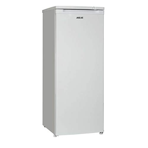 AKAY ICE247L Akai Congelatore Verticale ICDE247L 151 Lt Classe A+ Colore Bianco, Plastica