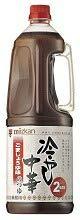 ミツカン 業務用 冷やし中華のつゆ ごましょうゆ味 1.8L×6本 ZHT