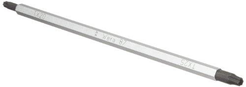 Wera 05002973001 Vario 87 Torx - Cuchilla combinada para destornillador de mango Vario, TX20, TX25, longitud de la hoja de 175 mm