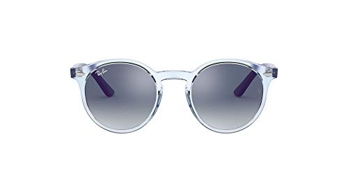 Ray-Ban JUNIOR 0RJ9064S Gafas de sol, Transparente Light Blue, 44 Unisex
