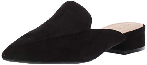Cole Haan Women's Piper Mule Loafer, Black Suede, 10.5 B US